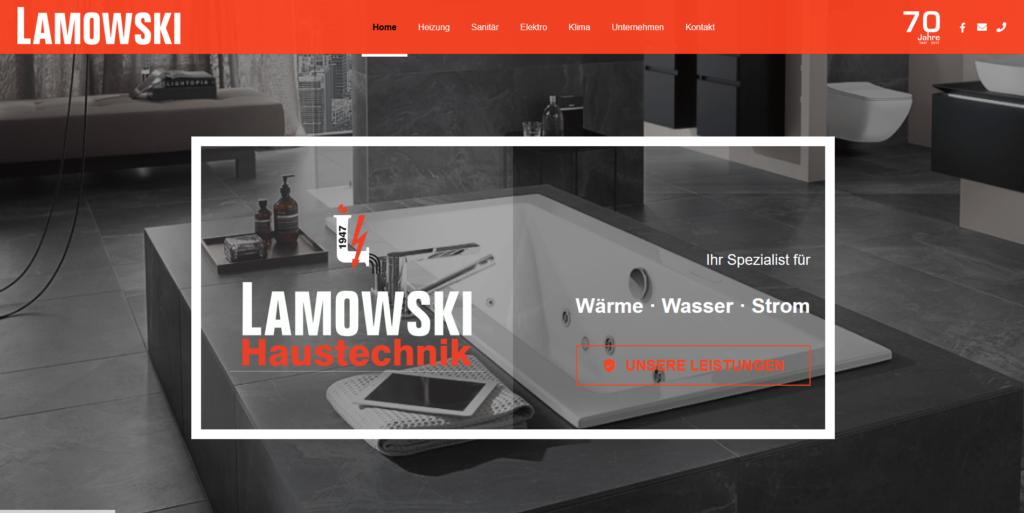 Referenz: Lamowski Haustechnik